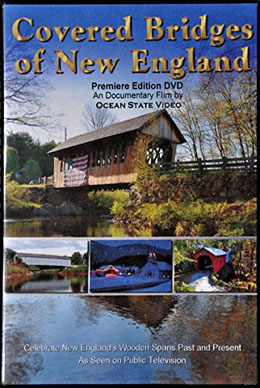 Covered Bridges of New England - DVD
