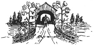 National Society for the Preservation of Covered Bridges logo