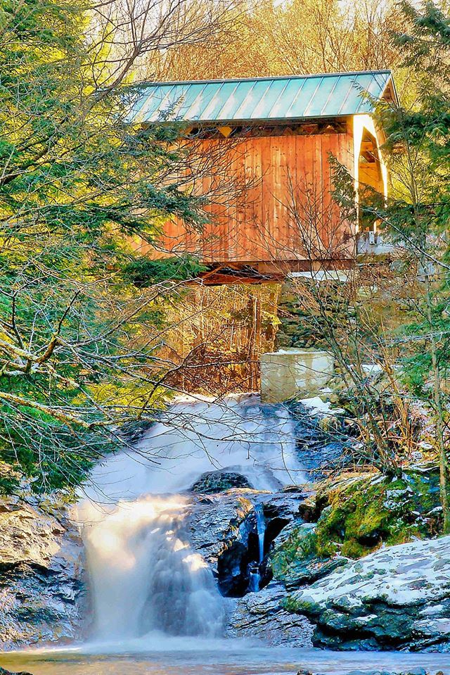 West Hill Covered Bridge - John H. Knox