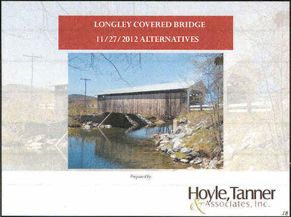 Longley Covered Bridge Powerpoint Page 18
