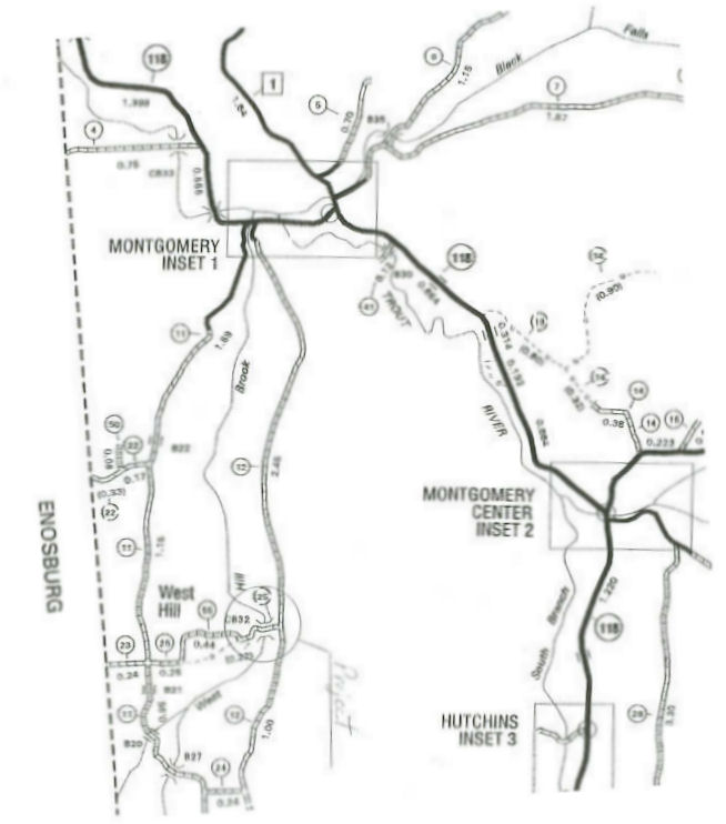 Map of West Hill in Montgomery