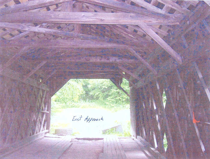 Creamery Covered Bridge East Approach